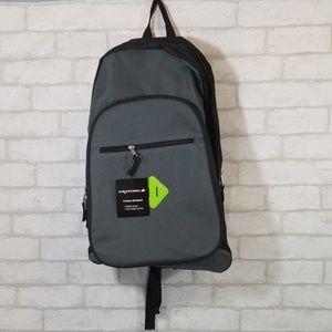 Wexford black/gray fashion backpack
